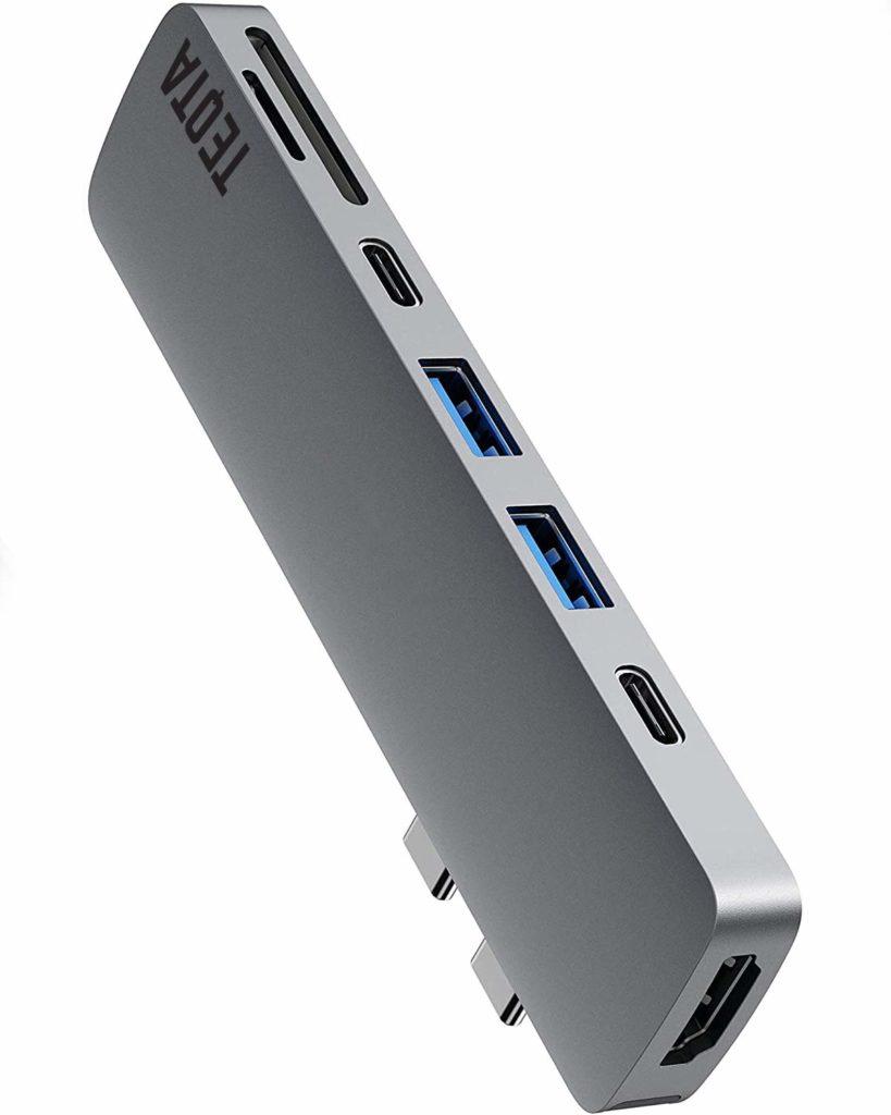 TEQTA 7 in 2 - Best USB-C hub